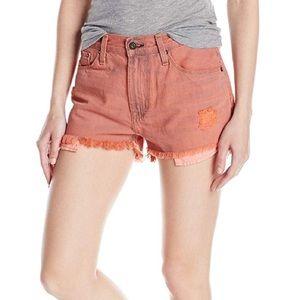 NWT Big Star Boyfriend Jeans Shorts, sunfire, S
